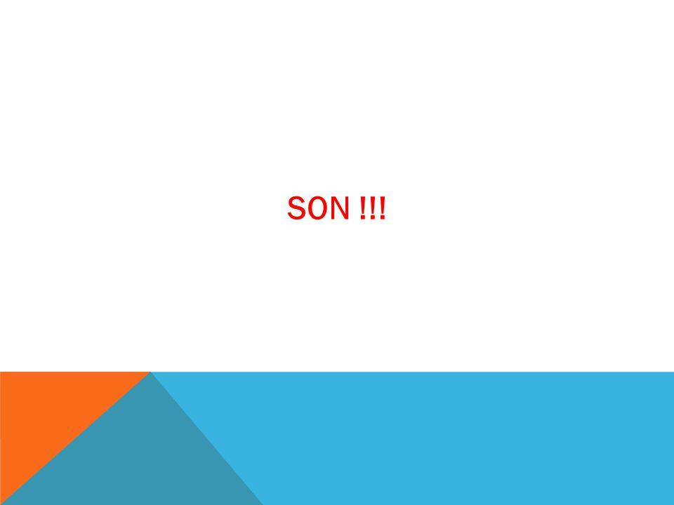 SON !!!