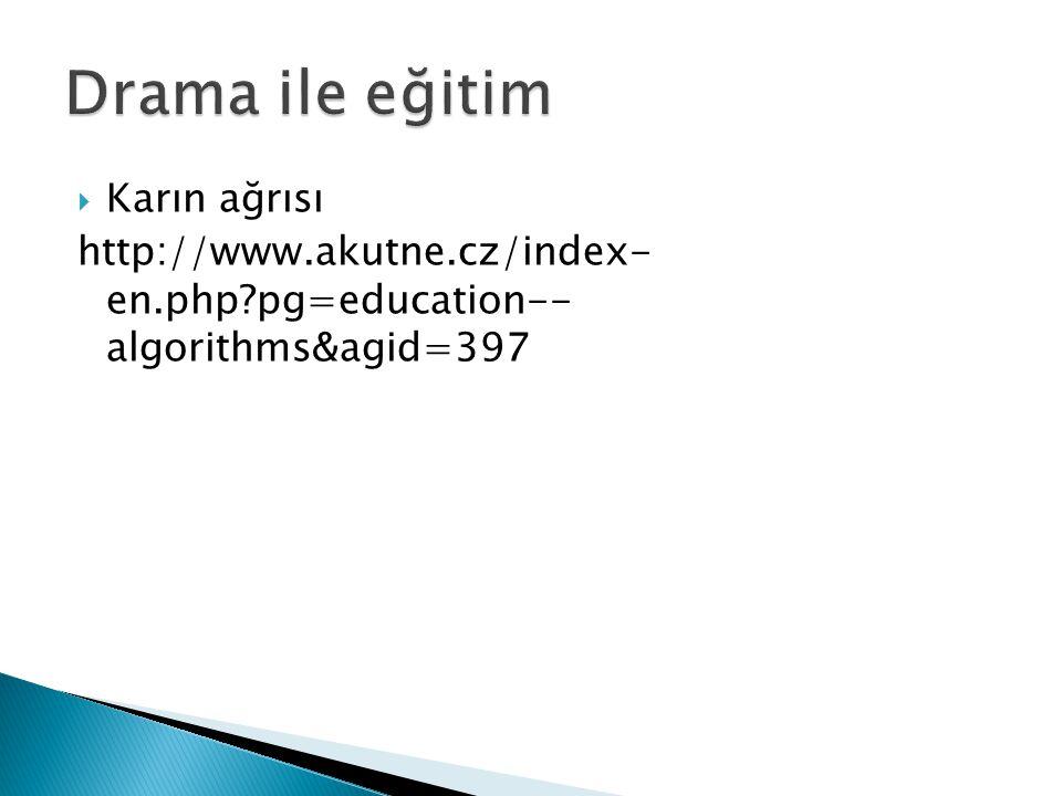  Karın ağrısı http://www.akutne.cz/index- en.php?pg=education-- algorithms&agid=397