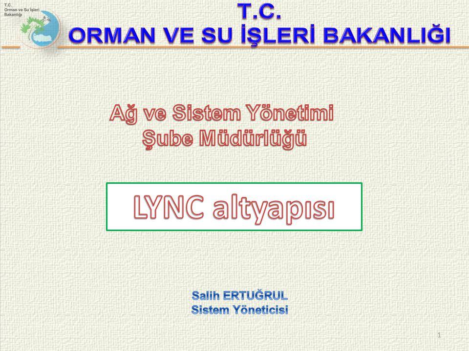  Lync seçeneklerinden en önemli kısımlardan birisi Arama İletmedir. 12 Lync 2013 ayarlamaları.