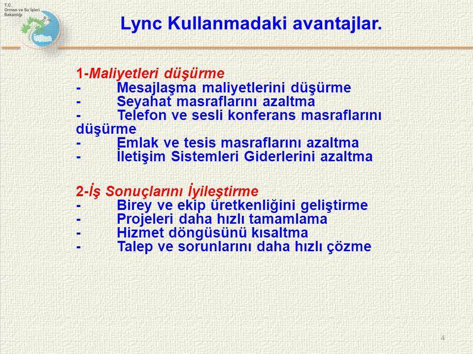 Temel Avantajlar 1- Kullanım kolaylığı ve microsoft office hızlı adaptasyon 2- İletişimin birleşmesiyle azalan masraflar 3- Diğer sistemlerle birlikte çalışabilme olanaklarıyla kolaylaşan yaygınlaştırma ve geçiş Temel Özellikler 1- Anlık mesajlaşma ve iletişim durum bilgisi 2- Sesli,görüntülü konferans ve web konferansı 3- Kurumsal ses ve telefon altyapısı 5 Lync Kullanmadaki avantajlar.