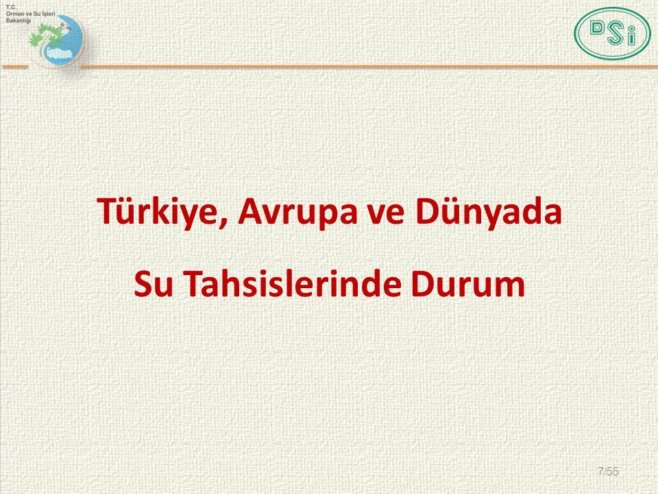 SU SİCİLİ RAPORLAMA 38/55