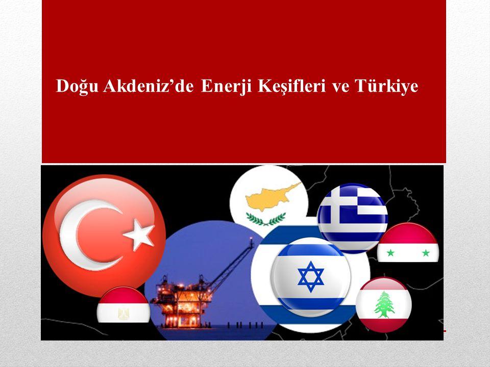 Giriş • Doğu Akdeniz'in Sınırları • Doğu Akdeniz'deki Enerji Keşifleri • Doğu Akdeniz'deki Deniz Yetki Alanı Sınırlandırma Sorunları • Münhasır Ekonomik Bölge (MEB) • Kıta Sahanlığı • Doğu Akdeniz'de Kıyısı Bulunan Devletlerin Deniz Yetki Alanı Sınırlandırmaları ile ilgili tutumları • İsrail • Mısır • Yunanistan • Güney Kıbrıs Rum Yönetimi • Türkiye • Türkiye'nin Doğu Akdeniz'deki Kıta sahanlığı ve MEB Sınırları ve Yaşanan Sorunlar • Doğu Akdeniz'de Oluşan Yeni Siyasi Dengeler