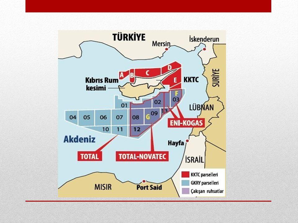 Yunanistan • Girit, Kaşot, Kerpe, Rodos ve Meis adaları hattını ilgili kıyı kabul ederek ortay hat prensibine uygun bir MEB sınırlandırma anlaşması yapmak için Mısır ve Libya ile temasa geçmiştir.
