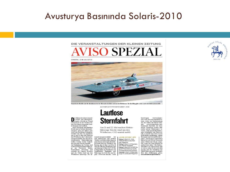Avusturya Basınında Solaris-2010