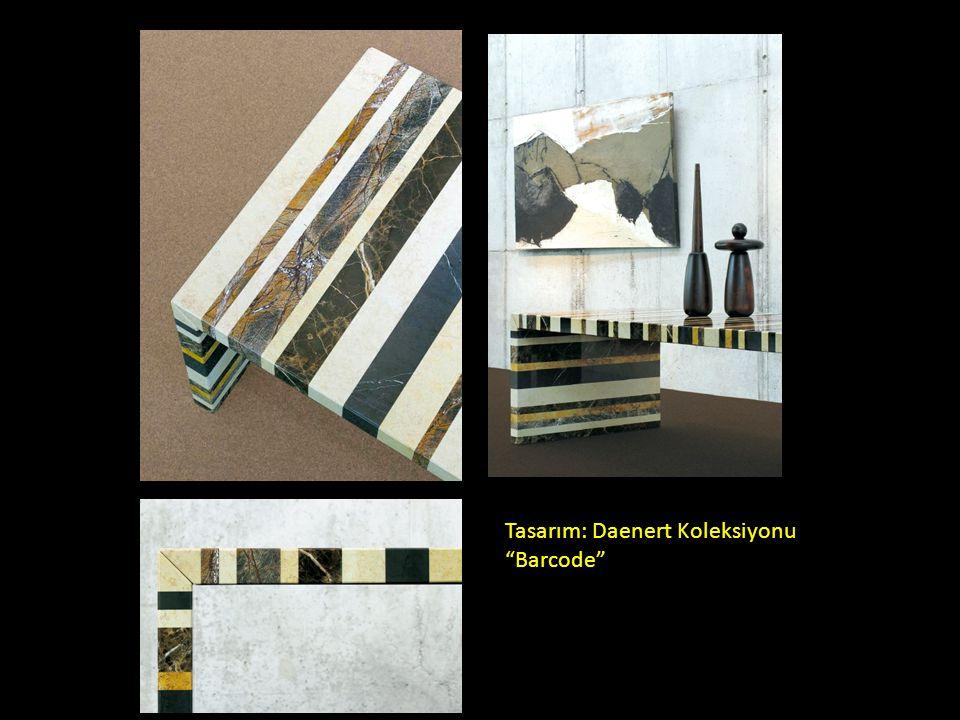 """Tasarım: Daenert Koleksiyonu """"Barcode"""""""