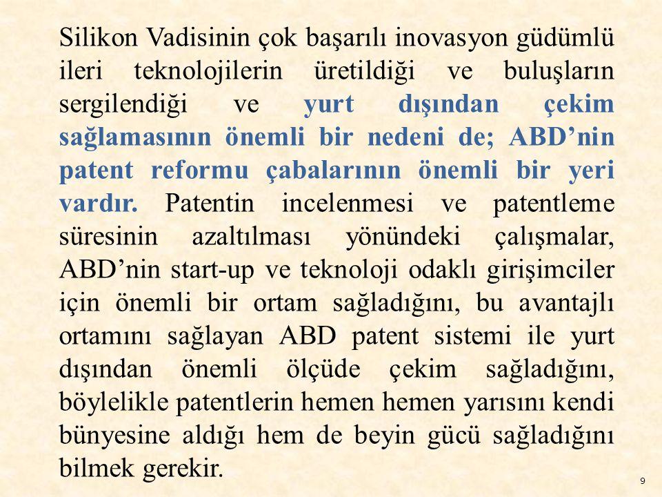 50 Başbakan Erdoğan ın, Türkiye de hayata geçirmek istediği Silikon Vadisi konusunda olmak üzere, yabancı yatırımcıları Türkiye ye davet ettiği, Türkiye nin coğrafi konumu, Avrupa Birliği ve Balkanlar ile Ortadoğu ve Asya arasında bir köprü olması, yatırımcılar için de oldukça cazip imkanlar sunuyor dediği vurgulanmaktadır.