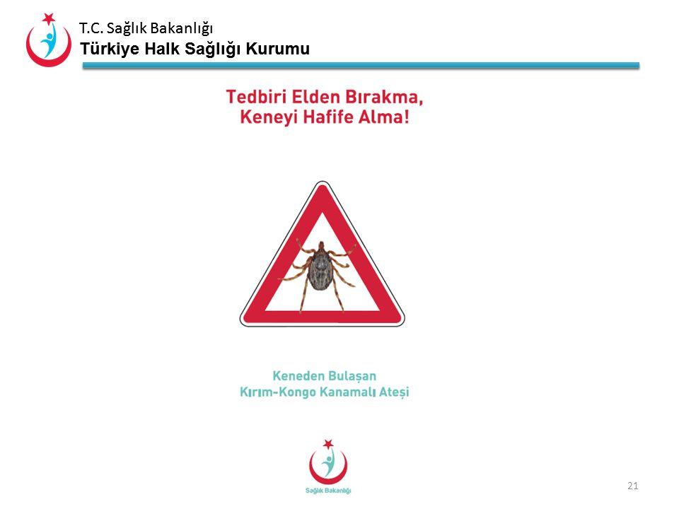 T.C. Sağlık Bakanlığı Türkiye Halk Sağlığı Kurumu T.C. Sağlık Bakanlığı Türkiye Halk Sağlığı Kurumu 20 Kırım Kongo Kanamalı Ateşinin Aşısı Var mıdır?