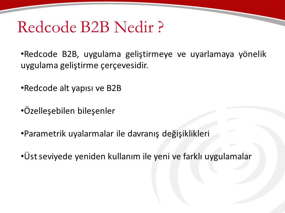 Redcode B2B Nedir .