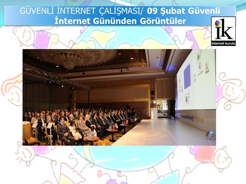 GÜVENLİ İNTERNET ÇALIŞMASI/ 09 Şubat Güvenli İnternet Gününden Görüntüler