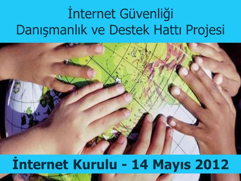 İnternet Güvenliği Danışmanlık ve Destek Hattı Projesi İnternet Kurulu - 14 Mayıs 2012