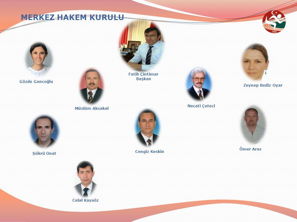 Müslüm Aksakal (Asbaşkan) Atletizm Federasyonuna gelen hakemlikle ilgili yazışmaların Federasyon Başkanı adına takibini ve yazışmalarını yapmak, Bu konularda Federasyonu ve MHK.