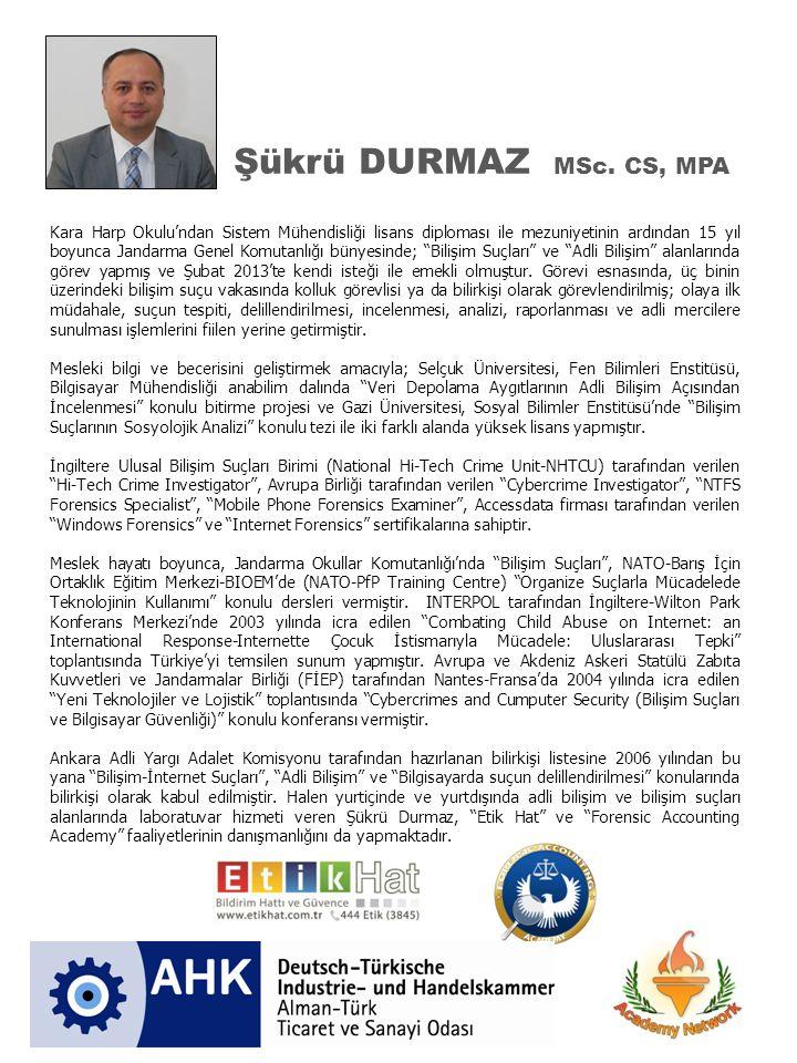 Şükrü DURMAZ MSc.