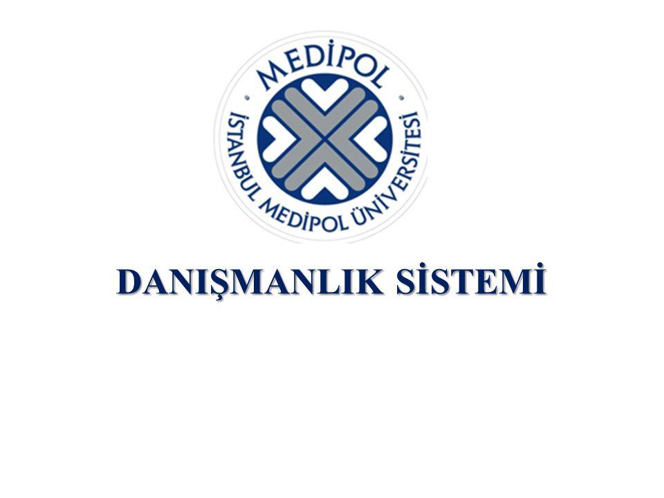  İstanbul Medipol Üniversitesi bünyesindeki tüm fakültelere ait danışmanlık yönergelerinin oluşturulması  Yıl sonunda danışman öğretim üyesi/danışan öğrencilerin dolduracağı geri bildirim formlarının düzenlenmesi  Danışman öğretim üyesi/danışan öğrenci değişikliği talebine dair esasların belirlenmesi ÖNERİLER