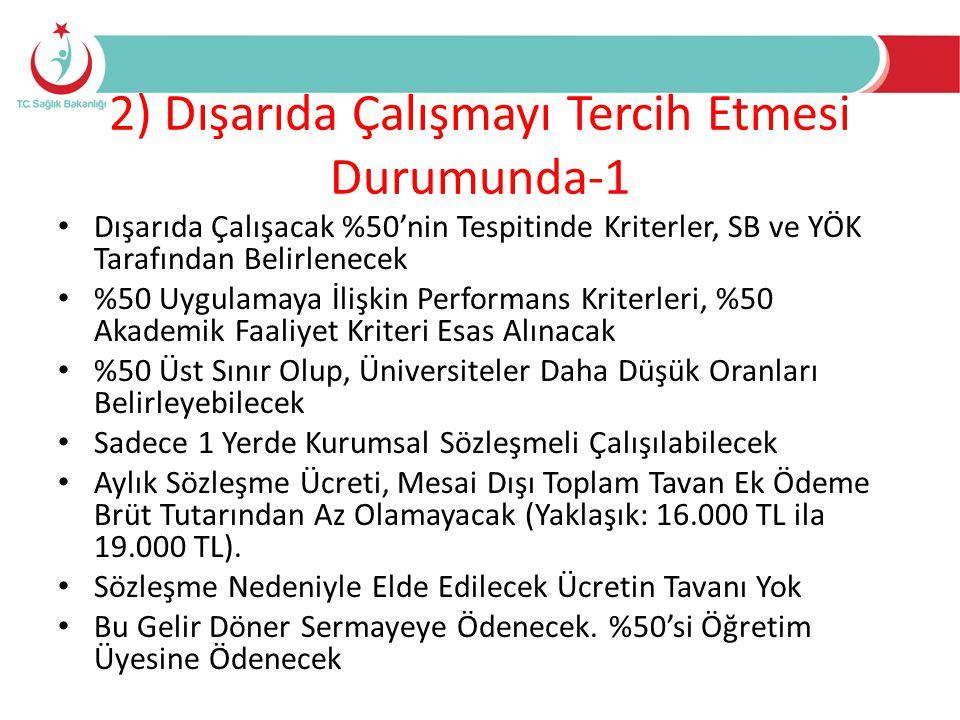 Genel Düzenlemeler • 1.1.2013 Tarihinden Önce Yurtdışında Mesleki Faaliyette Bulunan Hekimlere 3 Yıl Türkiye'de Çalışmak Koşuluyla DHY Muafiyet Sağlanmakta (3359/Geçici 9 Md) • Yurtdışından Organ ve Doku Nakli Yetkisi SB Tarafından Yetkilendirilen Kurumlara Verilmektedir (2238/Md 10) • Tıbbi Ölüm Tespit Yetkisi 2 Hekim İle Yapılabilecektir (2238/ Md 11) • Yurtdışından Kadavra Temini Hükümleri Yeniden Düzenlenmektedir (2238/14) • Sünnet İşlemleri 31.12.2014 Tarihinden İtibaren Hekimler Tarafından Yapılabilecek (1219/Md 3)