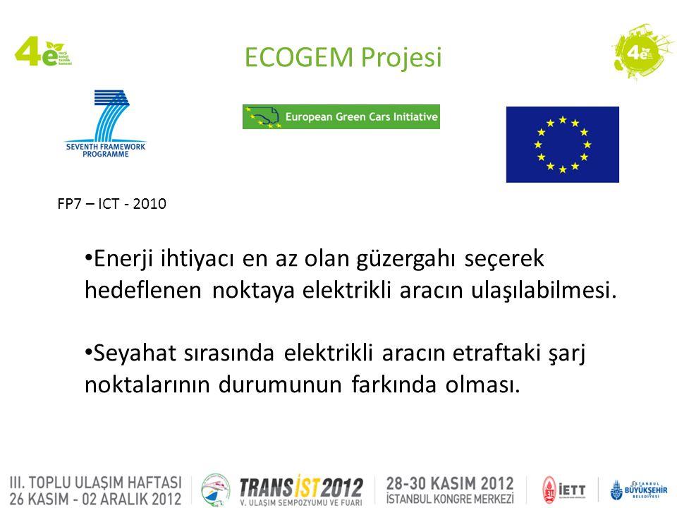10 Mobil Operatör Yazılım Geliştiriciler Araştırma Kurumları Ulaşım ve Trafik Organizasyonları Haritalama Üreticiler • Bütçe: 3.100.000 € • Eylül-2010, Mart-2013 Proje Ortakları