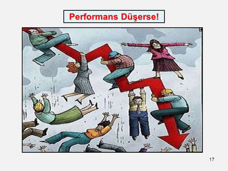 17 Performans Düşerse!