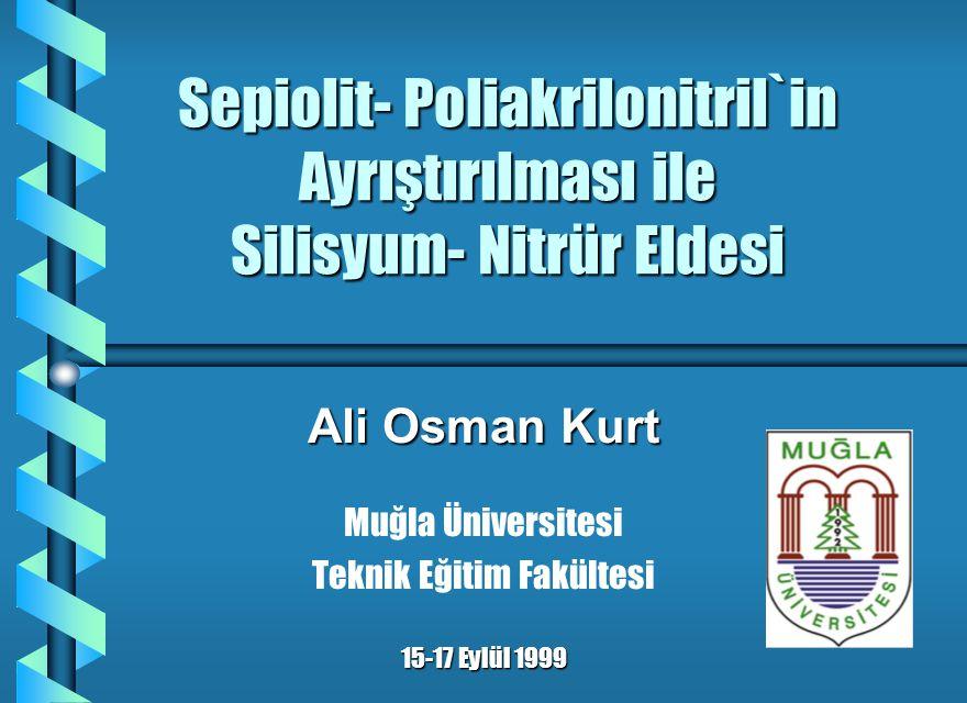 Teşekkür b Prof.Tom J. Davies b Prof. Süleyman Sarıtaş b Prof.