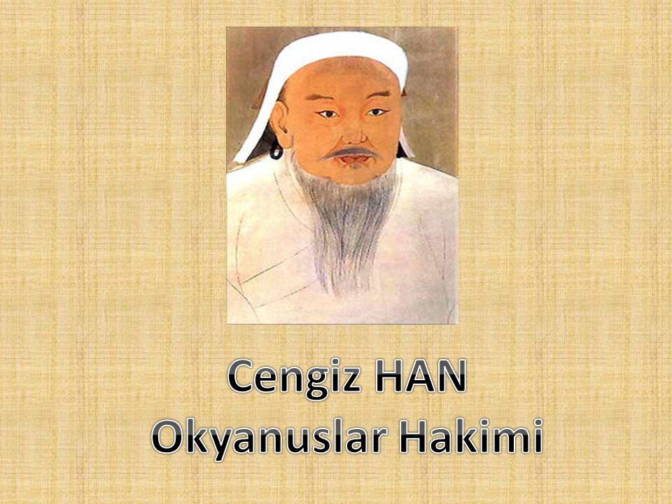 Dünya tarihindeki etkileri • Cengiz Han ın Asya yı birleştirmesiyle sınırlar ve gümrükler kalkmış, Asya daki iktisadi yapı değişmiştir.