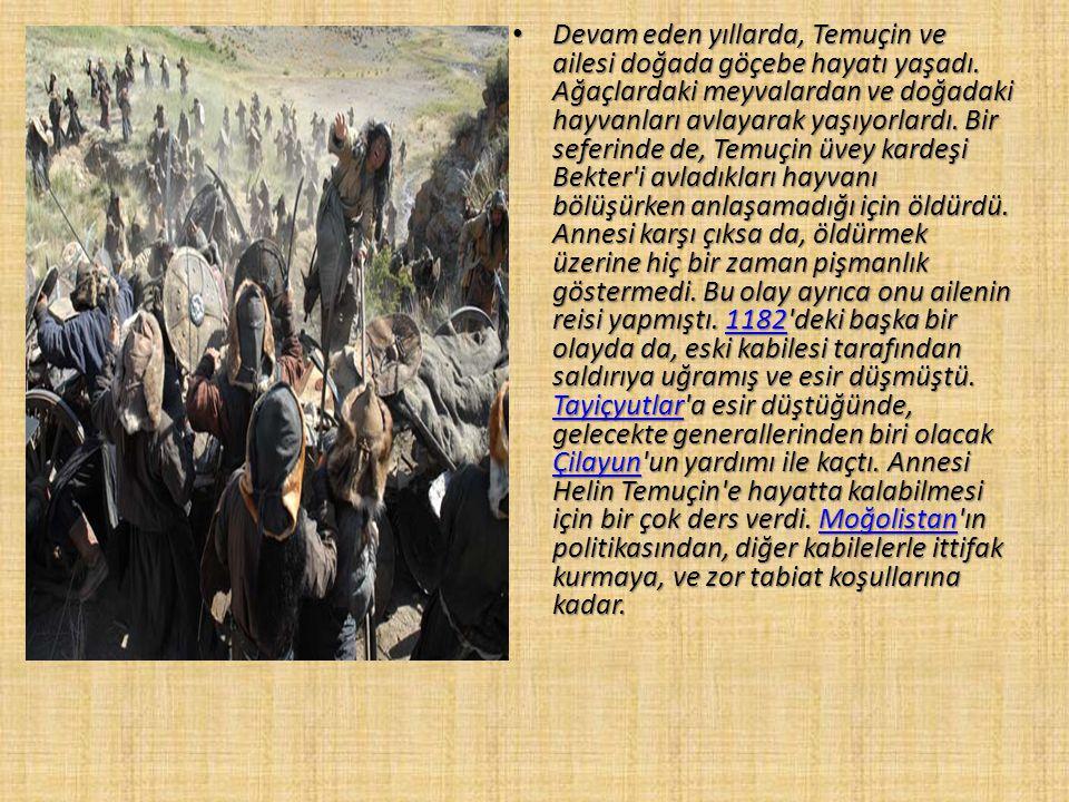 CENGİZ HAN DESTANI CENGİZ HAN DESTANI Orta Asya'da yaşayan Türk bodunları arasında XIII.