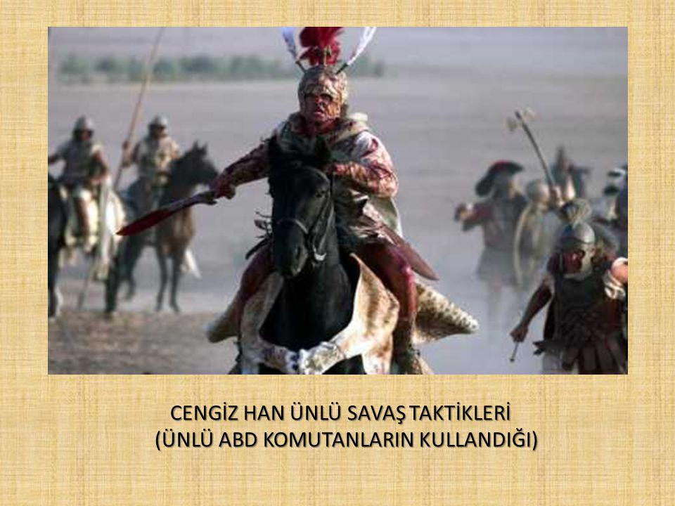CENGİZ HAN HAKİMİYETİ 12061206 yılında Moğol kabilelerinin birleşmesiyle kurulan Moğol İmparatorluğu Cengiz Han'ın önderliğinde seferlere dayalı bir s