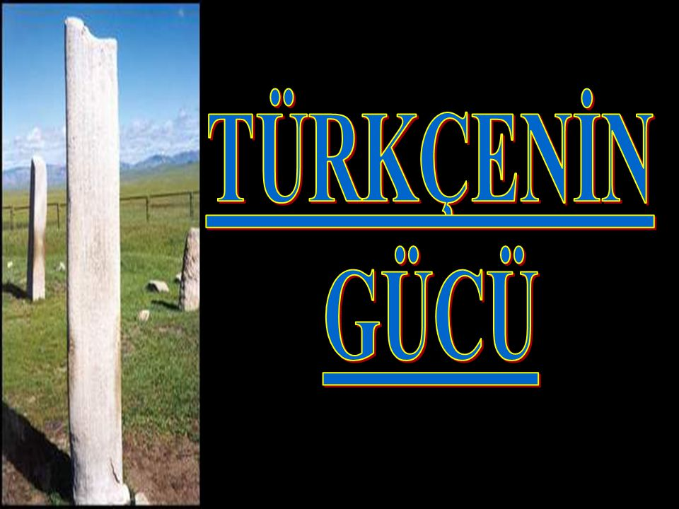 Türkçe için yok olma tehlikesi söz konusu değil ama… TÜRKÇEDE KKKKirlenme YYYYozlaşma YYYYabancılaşma yaşıyoruz.
