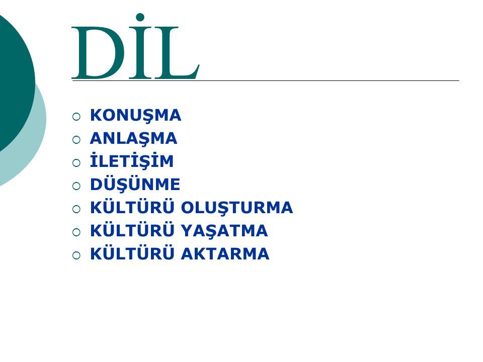TÜRKÇEYE SAHİP ÇIKMALIYIZ… Türkçeye sahip çıkarsak, bütün sorunlar çözülecektir.