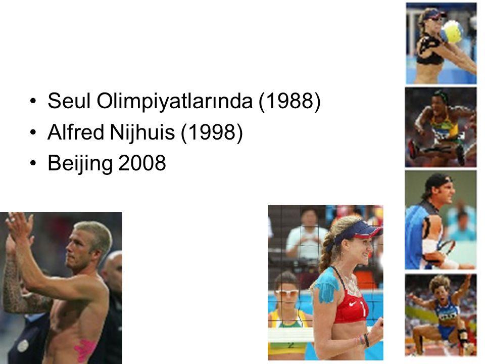 •Seul Olimpiyatlarında (1988) •Alfred Nijhuis (1998) •Beijing 2008