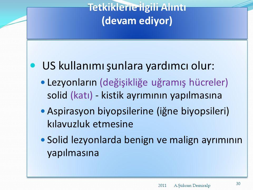Tetkiklerle İlgili Alıntı turkrad2010.org/poster/epm/.../files/pps/abstract33_201010 30022657.pps • Günümüzde, MG'nin meme karsinomlarının tespitinde