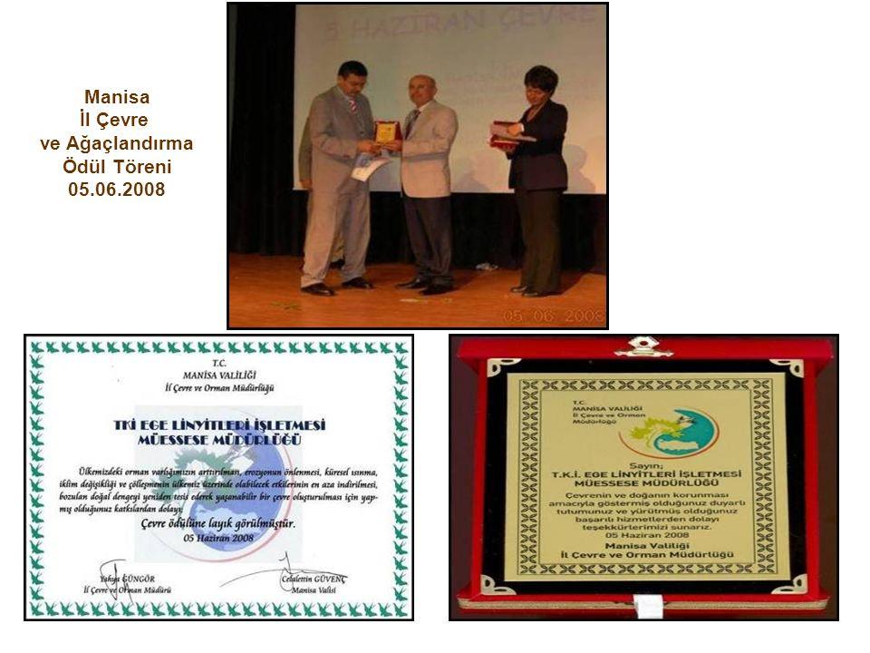 Manisa İl Çevre ve Ağaçlandırma Ödül Töreni 05.06.2008