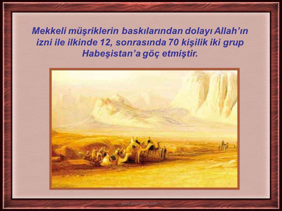 İlk vahiyden sonra tebliğ üç yıl gizli devam etmiştir. İlk Müslümanlar: Hz. Hatice Hz. Ali Hz. Ebu Bekir Zeyd bin Haris Yakın çevreye tebliğ, ayet ile