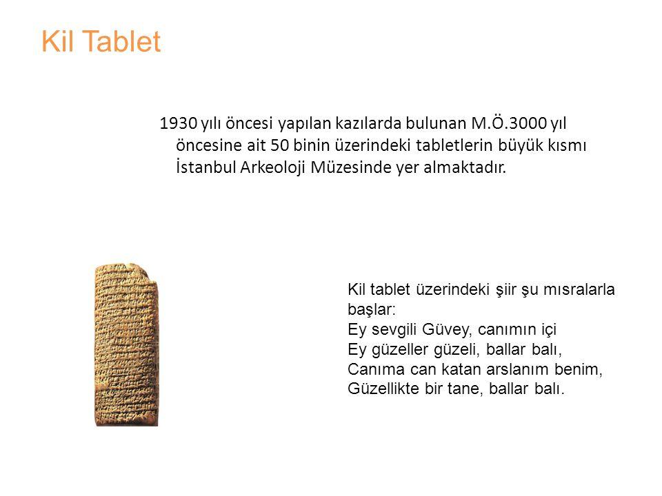 •Asur Kralı Assurbanipal'ın M.Ö.669-626 yıllarında Ninive şehrindeki Saray Kütüphanesinde 22 bin den fazla tablete sahip kültür merkezi olduğu 1840 yılında İngiliz Layart tarafından yapılan kazılar sonucu anlaşıldı.