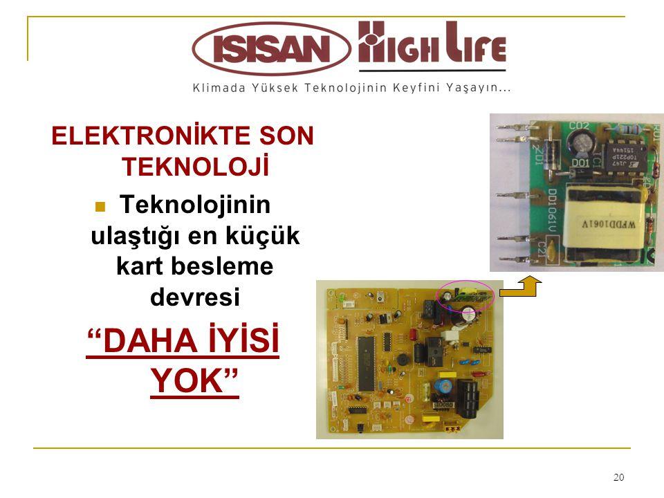 21 FONKSİYONEL UZAKTAN KUMANDALAR  Basit kullanım,  Akıllı kontrol modu (FUZZY LOGIC CONTROL)  Otomatik sıcaklık kontrol ve komut imkanı,  Otomatik fan devir ayarı,  5 ayrı kademede klape ayar imkanı,  Akıllı klape kontrolü,  Sürekli anlık zaman gösterimi,  Saate bağlı aç/kapa programı yapabilme,  16 - 31°C arası yüksek aralıklı sıcaklık ayar imkanı,  Gece konumu ayarı (uyku modu )