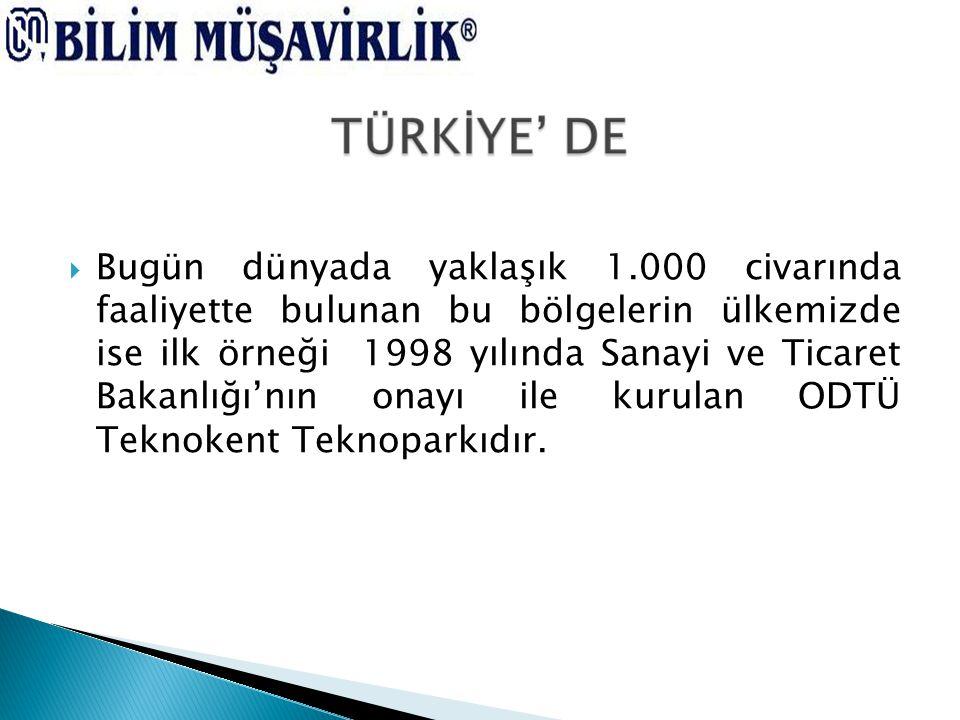 26.06.2001 tarrihinde 4691 sayılı TEKNOLOJİ GELİŞTİRME BÖLGELERİ KANUNU' nun yürürlüğe girmesiyle Teknoloji Geliştirme Bölgesi hüviyeti kazanmıştır.