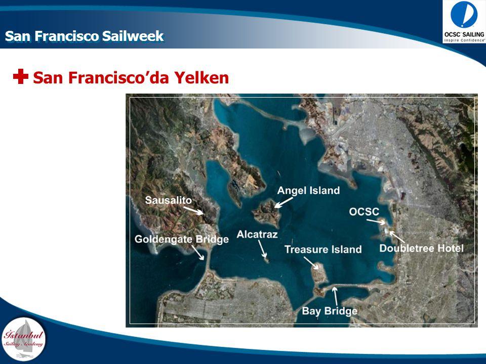 San Francisco'da Yelken San Francisco Sailweek