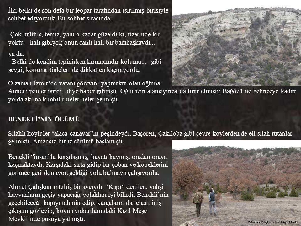 Otuz yıl aradan sonra, Mehmet Ertüzün'le birlikte 11 Mart 2004'te Havva Köksal'ı ziyarete gittiğimizde bize büyük karşılaşmayı anlatmıştı. -Şöyle uzun