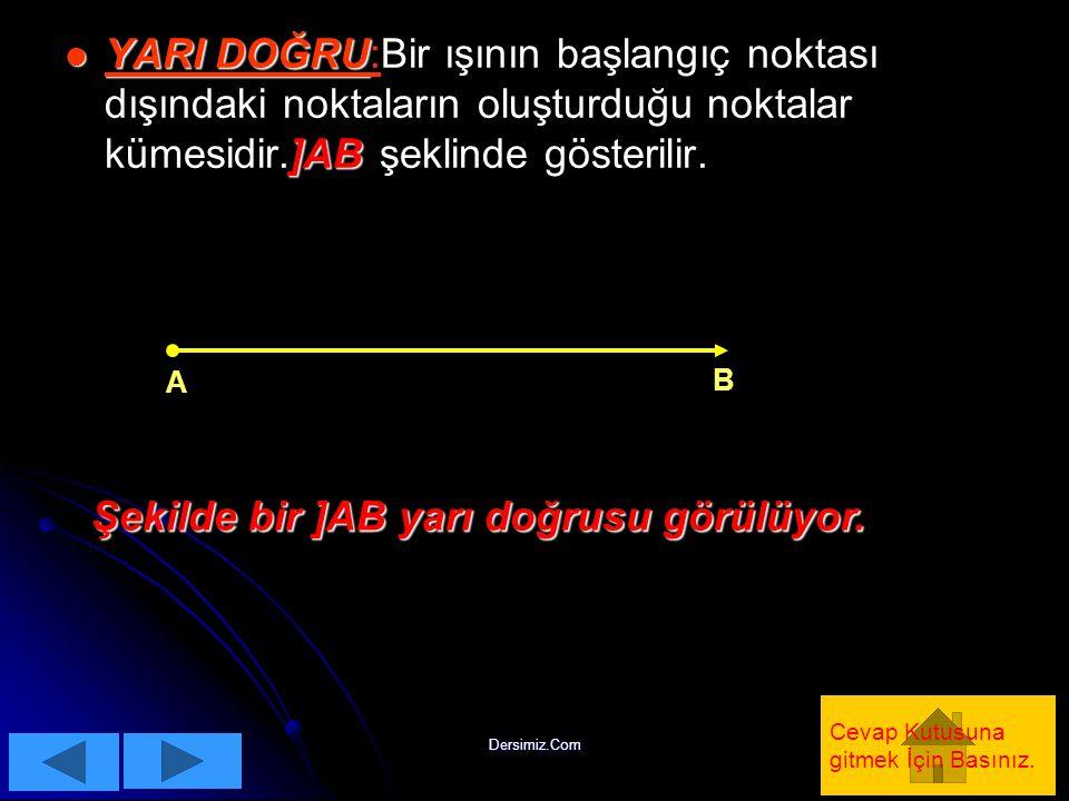 Dersimiz.Com ÇÇÖZÜM: d1d1 d2d2 b b c a 180 0 -a b Şekilden de anlaşıldığı gibi c=180 0 -(a-b) olur.