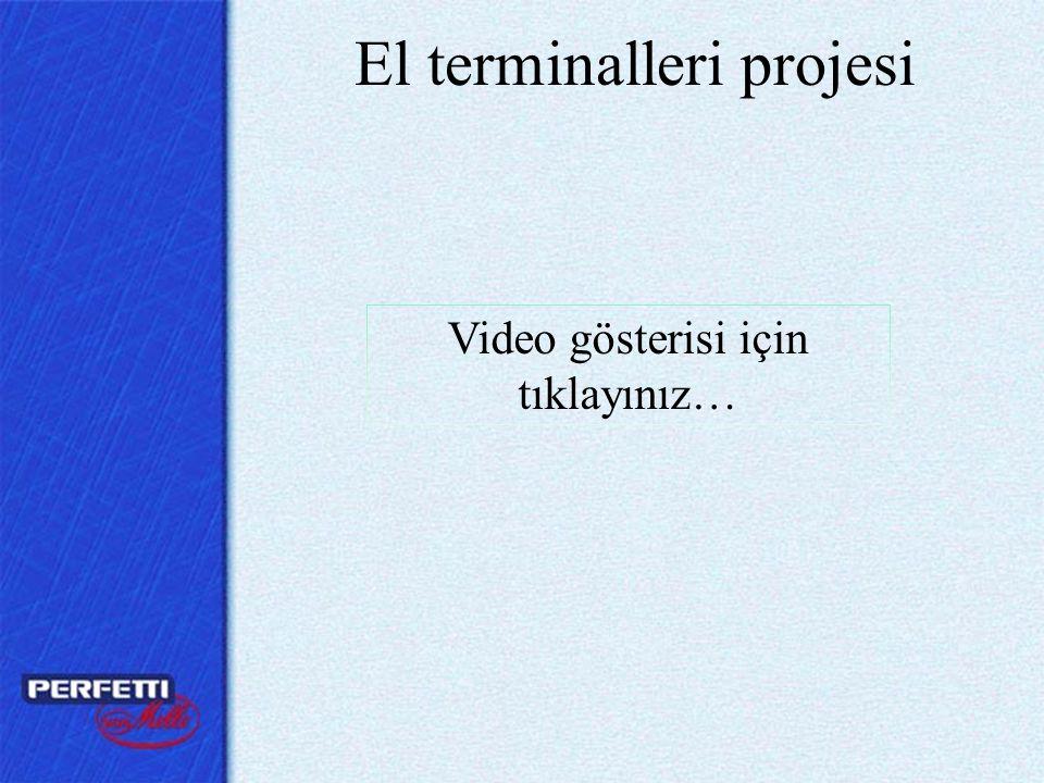El terminalleri projesi Video gösterisi için tıklayınız…