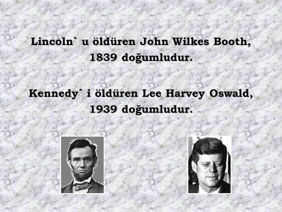 Her iki başkanın yerine geçenlerin adı 6 harflidir, ikisininde soyadı Johnson´dur Lincoln` un yerine geçen Andrew Johnson 1808 doğumludur. Kennedy ` n