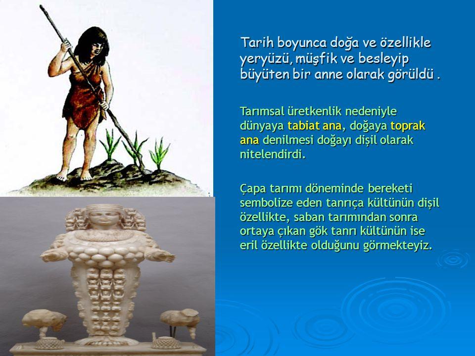 •Toplum içinde cinsiyete bağlı ilk farklılaşma avcılık-toplayıcılık döneminde gerçekleşmiştir. • Erkeklerin avcılık, kadınların ise toplayıcılık yaptı