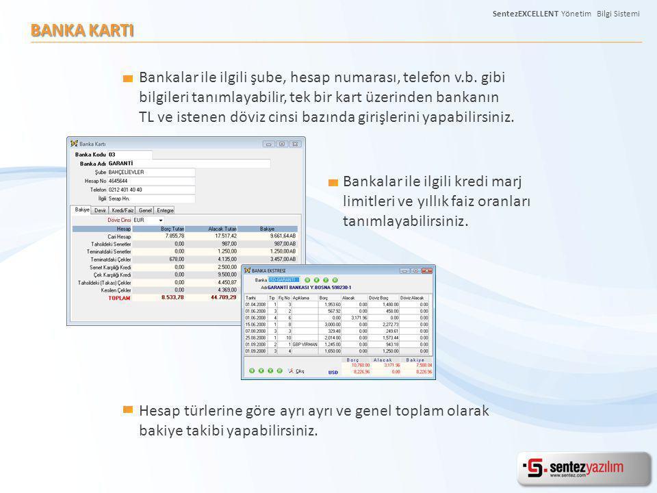 BANKA KARTI Hesap türlerine göre ayrı ayrı ve genel toplam olarak bakiye takibi yapabilirsiniz. Bankalar ile ilgili kredi marj limitleri ve yıllık fai