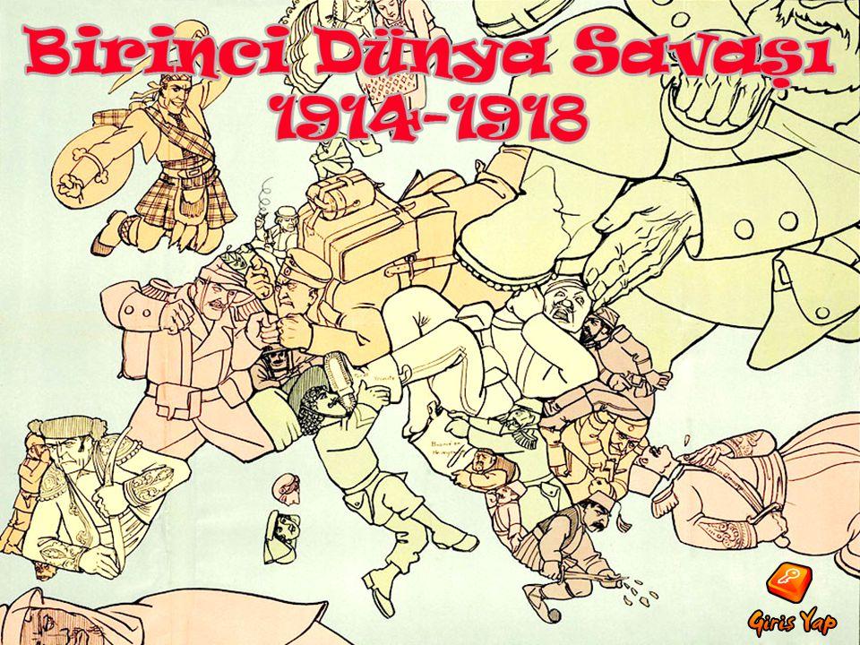 •OSMANLI •OSMANLI DEVLETİ DEVLETİ ve BULGARİSTAN 'nin 'nın savaşa girmesi sonrasında sonrasında İtilaf ve İttifak Devletleri Grupları Grupları 'nda değişiklikler meydana gelmişti.