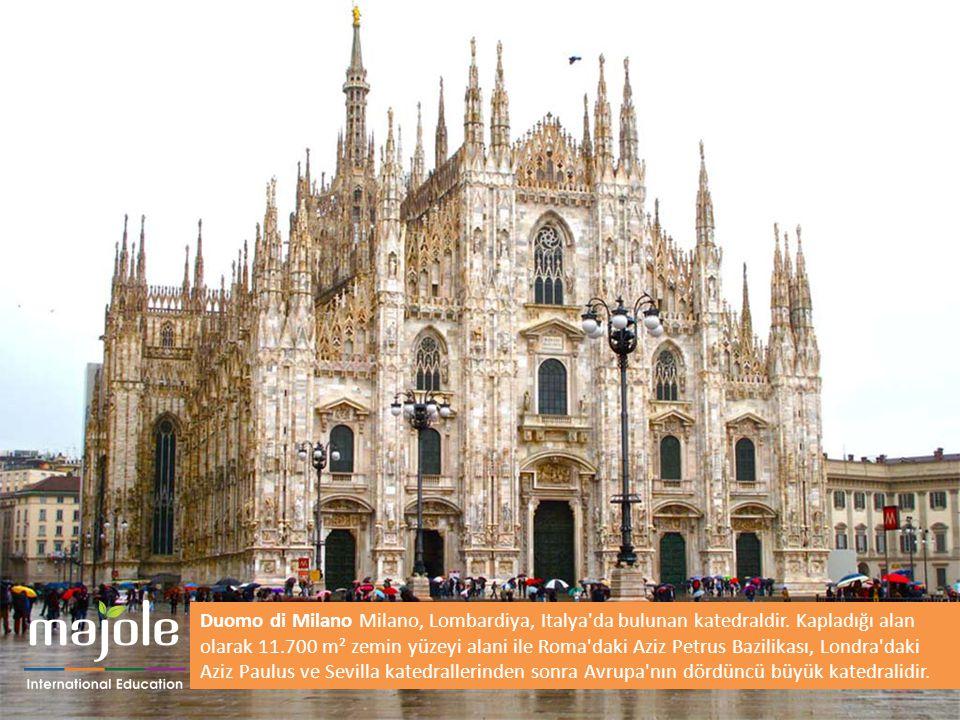 Duomo di Milano Milano, Lombardiya, Italya'da bulunan katedraldir. Kapladığı alan olarak 11.700 m² zemin yüzeyi alani ile Roma'daki Aziz Petrus Bazili