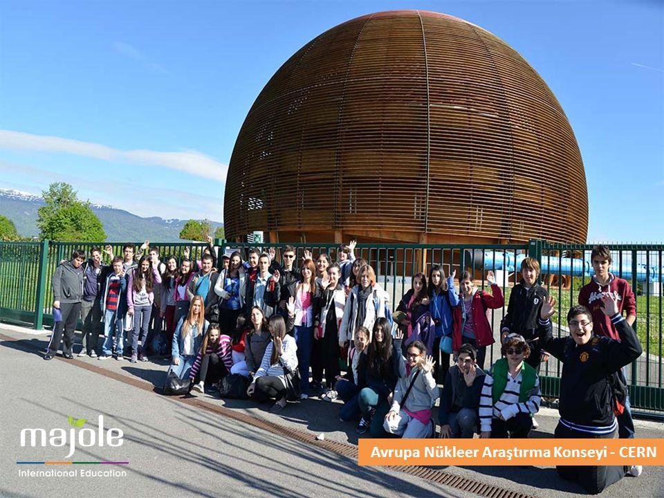 Bu kurum, İsviçre ve Fransa sınırında yer alan dünyanın en büyük parçacık fiziği laboratuvarıdır.