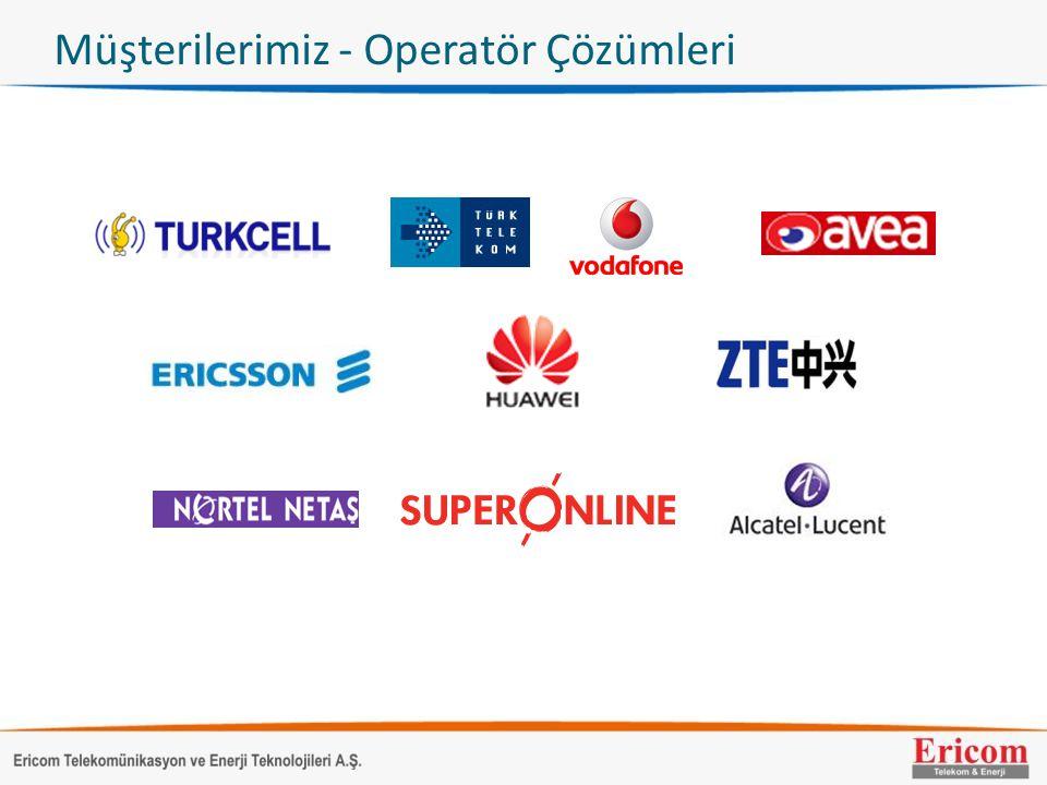 Müşterilerimiz - Operatör Çözümleri
