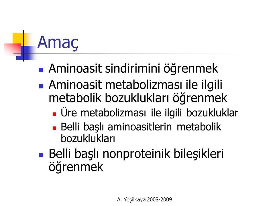 A. Yeşilkaya 2008-2009 Serum Protein Elektroforezi (SPE)