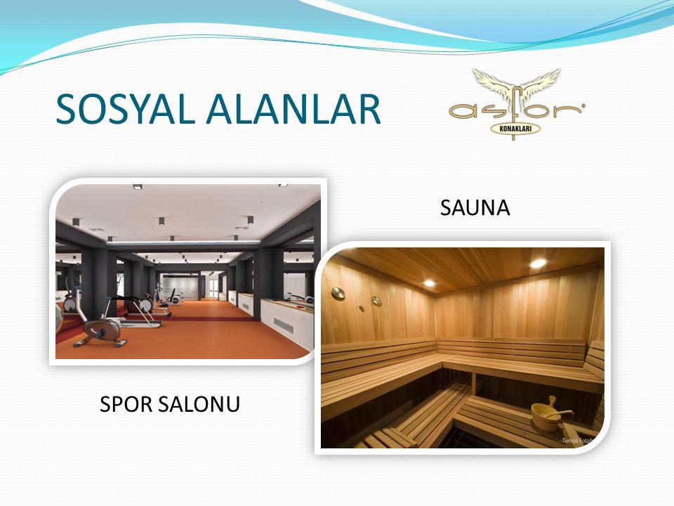 SOSYAL ALANLAR SPOR SALONU SAUNA
