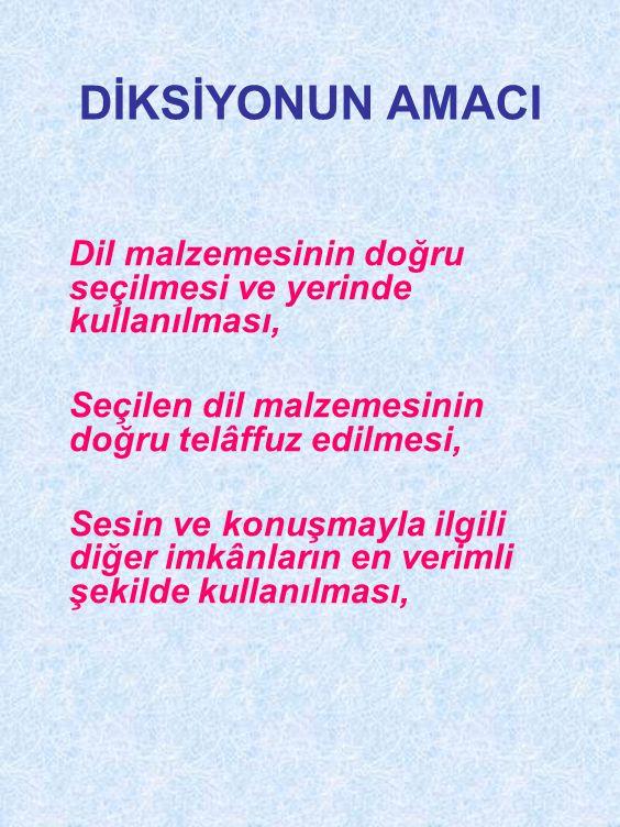 • f ünsüzü Türkçe kelimelerin hiçbir yerinde bulunmaz.