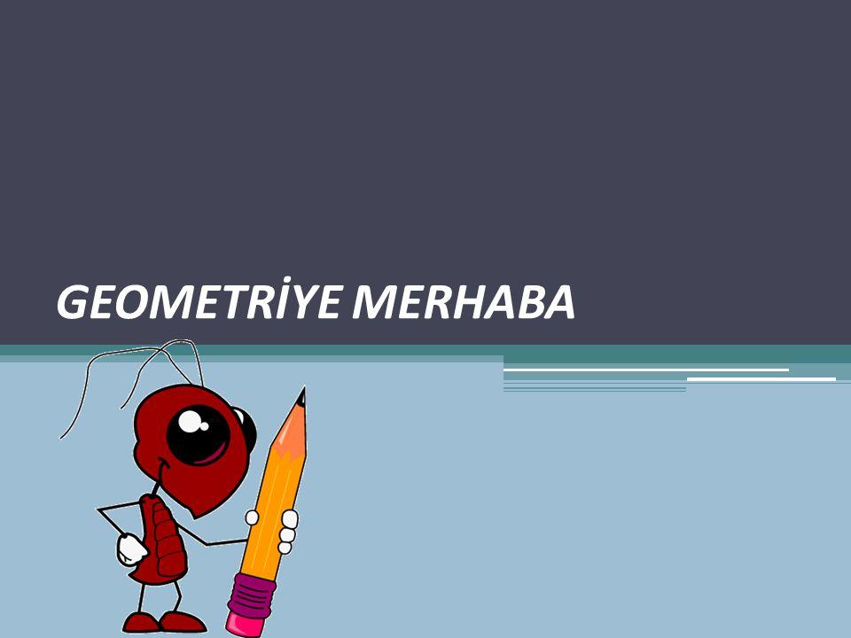 GEOMETRİYE MERHABA