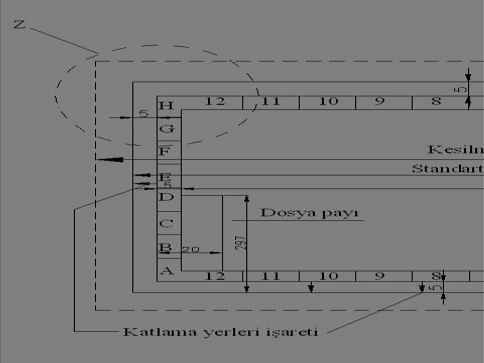 1.Pergelin ucu P noktasına batırılarak, M merkezinden geçen ve çemberi kesen bir yay çizilir.