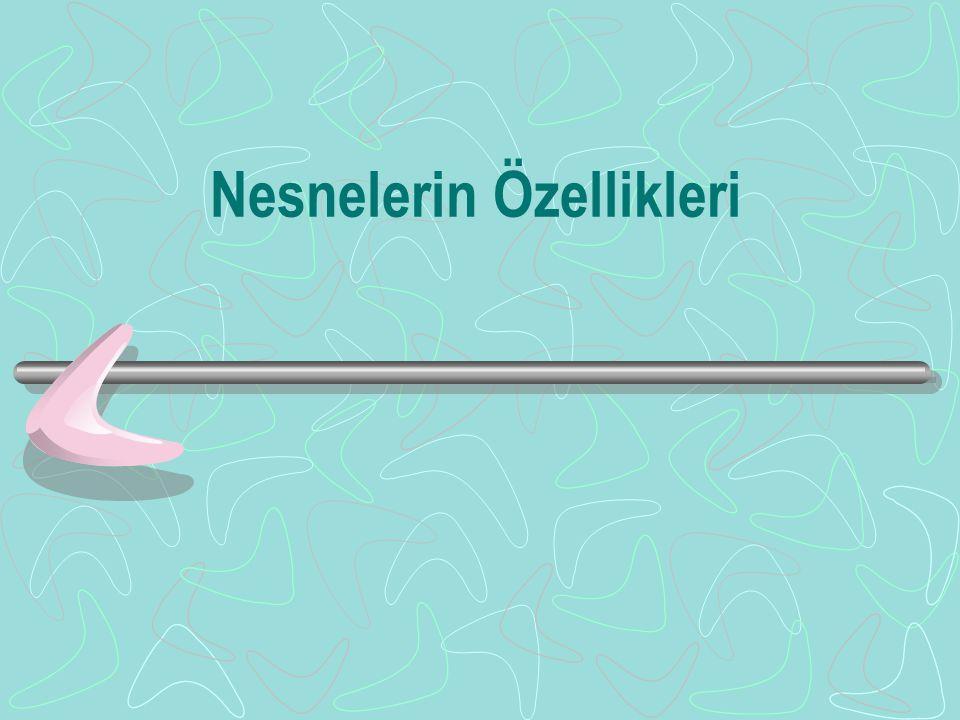 Sınıf (IIa) class Dogru { Nokta Baslangic, Bitis; public: Dogru (Nokta&, Nokta&); Dogru (Dogru&); float Uzunluk (); friend int Yaz (); };